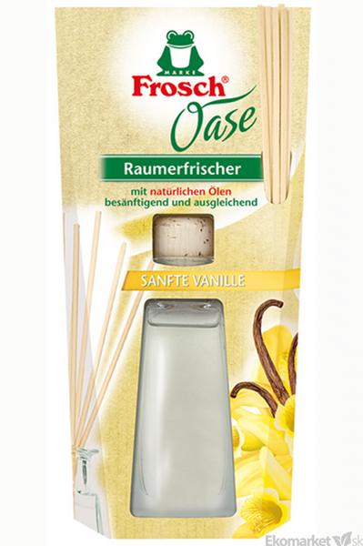 Prírodný osviežovač vzduchu Frosch Oase Vanilkový vánok 90 ml
