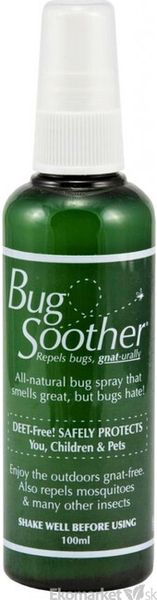 Prírodný repelent BugSoother 100 ml