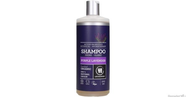 Prírodný šampón levanduľový URTEKRAM 500 ml