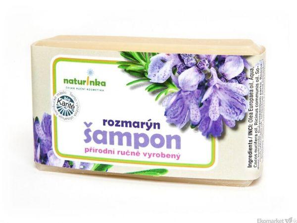 Prírodný šampón Naturinka 110g - rozmarínový (vlasová regenerácia)