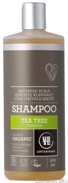 Prírodný šampón tea tree URTEKRAM 500 ml