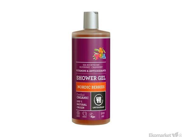 Prírodný sprchový gél URTEKRAM 500 ml - nordic berries
