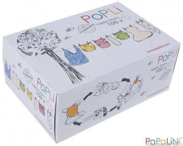 Separačné plienky Popoliny v krabičke 100ks