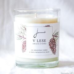 Sójová sviečka Jemnô 150g - V lese