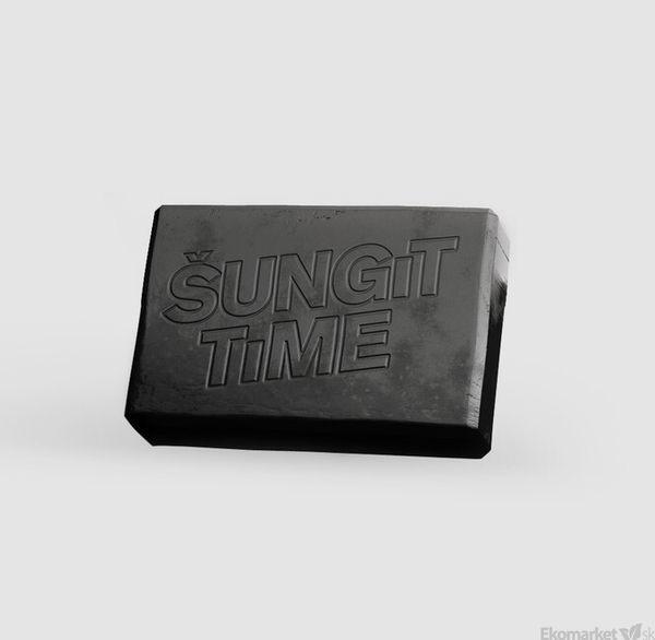 ŠUNGIT TIME prírodné mydlo 80g
