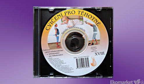 SM - systém cvičenie pred, počas, po - tehotenstve CD